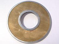 Диск сетчатый элемент фильтра двигателя Ч 12/14 и Ч 25/34; Марка: ЭФМС 100/35-0,1; Размер: 100х35х0,1